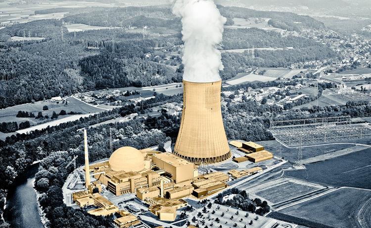 Kraftwerk Flugaufnahme 1