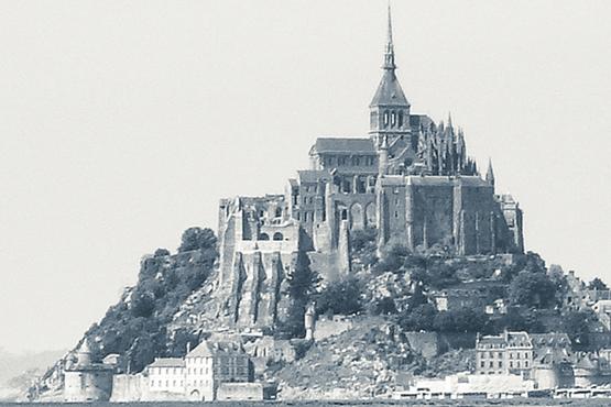 Stauwehr Mont Saint Michel 1